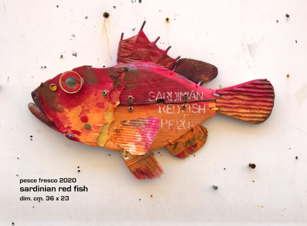 sardinian red fish