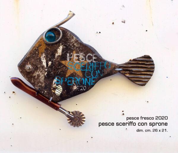 pesce sceriffo con sperone